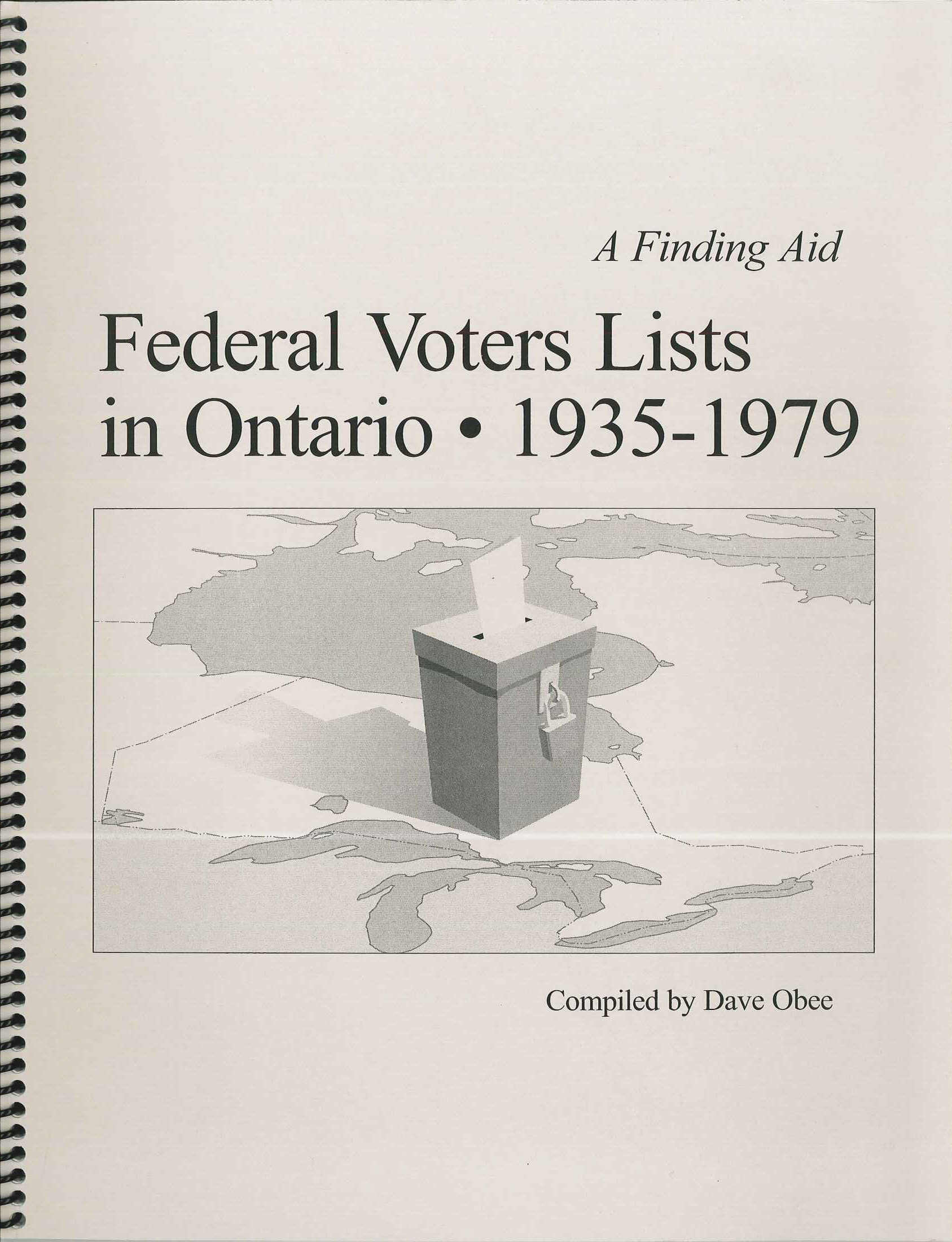 Genealogy books saskatchewan genealogical society federal voters lists in ontario 1935 1979 aiddatafo Image collections