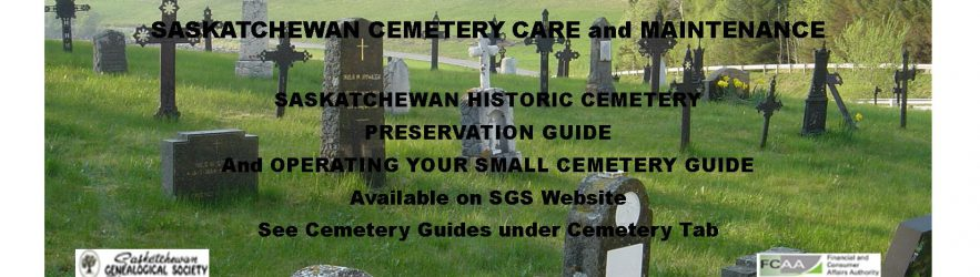 Saskatchewan Cemetery Care and Maintenance