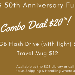 SGS 50th Anniversary Fundraise