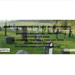 Saskatchewan Cemetery Care and Maintenance